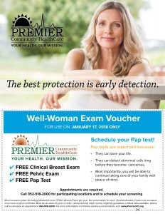women's health flyer